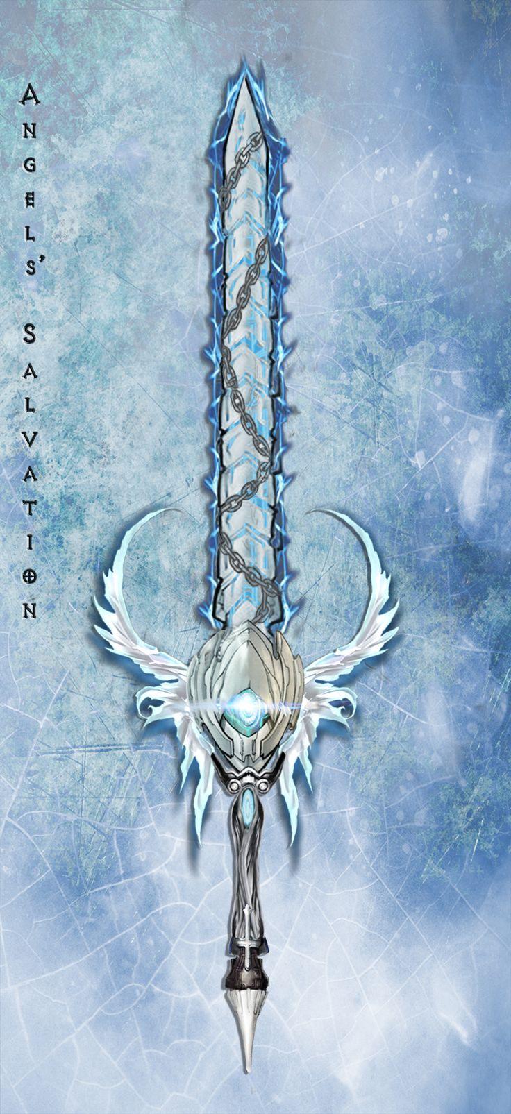 Angel's Salvation: Holy Blade by Unkn0wnfear.deviantart.com on @DeviantArt