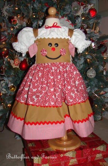 Karen's Butterflies and Faeries: Catching Up Part 4: Gingerbread Dresses