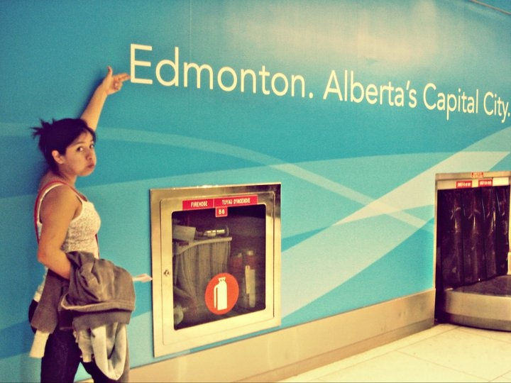 MOST OF THE TIME I WAS THERE - EDMONTON <3