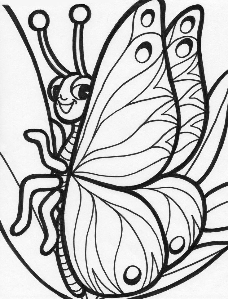 Juegos De Pintar Mariposas