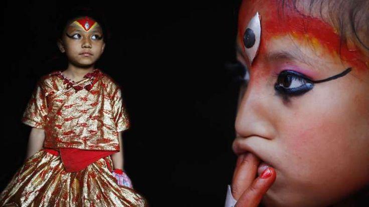 Nepal's living Goddess unharmed during earthquake @NewsX