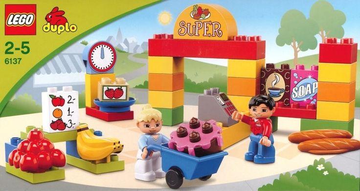 Lego Duplo 6137 Můj první supermarket - 0