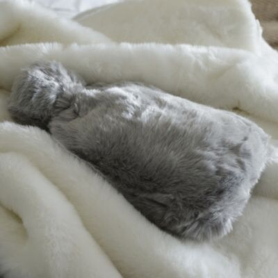Supreme Faux Fur Hot Water Bottle & Cover