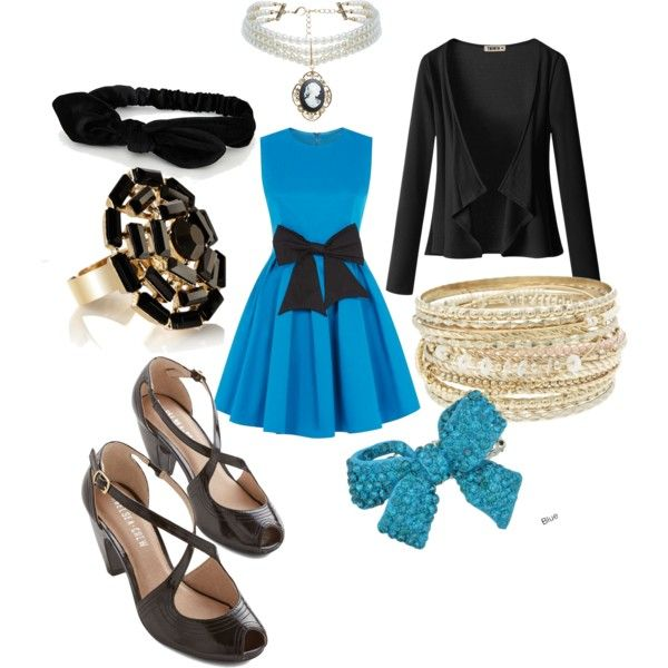 """""""Penelope Garcia Blues"""" by charity-carlton on Polyvore"""