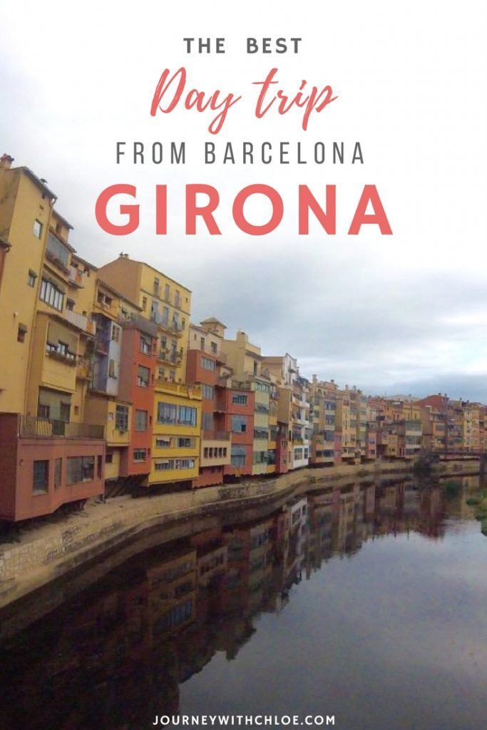 Girona is the best day trip from Barcelona, Spain. The small town is only one hour north towards the Costa Brava region of Catalonia. Girona is home to Game of Thrones filming locations, medieval walls and other beautiful architecture. It's the perfect break from the big city!