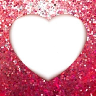 pink-gold-frame-in-the-shape-of-heart