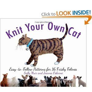 A book on how to Knit Your Own Cat, with 16 pattern