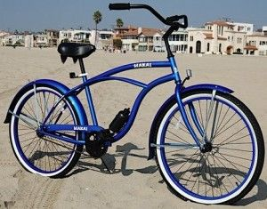 A cruiser bicycle, furthermore known as a sandy shore cruiser, is a two wheeler which blends balloon tires, an upright seating posture, a single-speed drivetrain, and straightforward iron alloy construction with ...