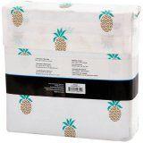 Mainstays 180 Thread Count Sheet Set, Pineapple Pattern