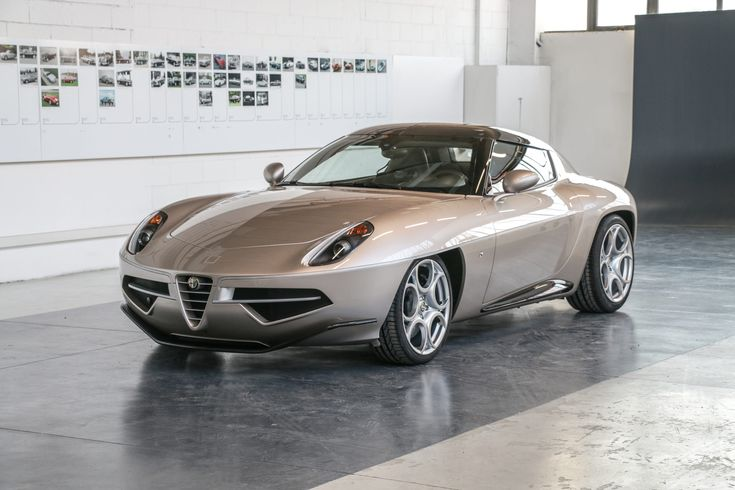Alfa Romeo Disco Volante Spider By Touring