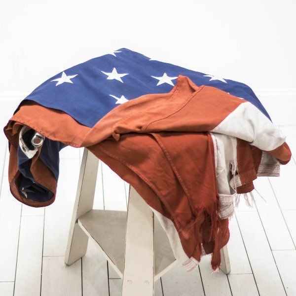Large American Flag | Birch & Brass Vintage Rentals | Weddings and Corporate Events | Austin, Texas