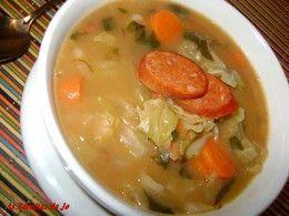 Receitas - sopa de legumes com feijão manteiga - Petiscos.com