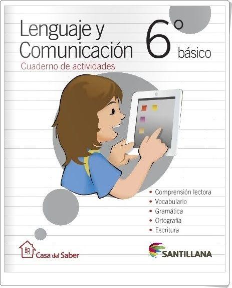 """Recursos didácticos para imprimir, ver, leer: """"Cuaderno de Lengua de 6º de Primaria"""" (Editorial ..."""