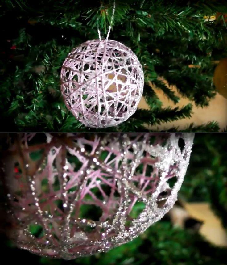 Bolas de navidad hoy traemos otra sencilla pero a la vez - Arboles de navidad manualidades navidenas ...