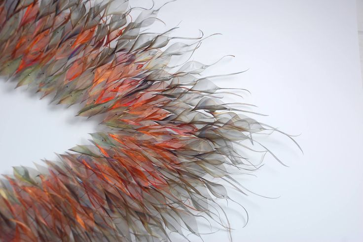 Artist Michelle McKinney creates delicate and ethereal forms of nature out of an unexpected medium: industrial metals.