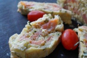Uimodståelig lækker kartoffelroulade med røget laks og avocadocreme - perfekt som forret eller til buffet-bordet