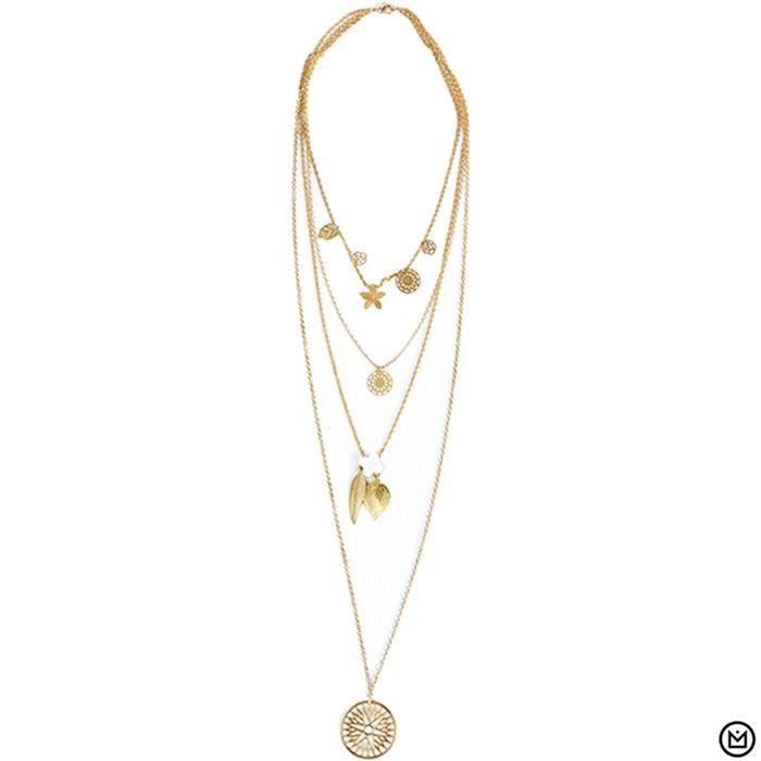 Collier Toosunny Hipanema collection été 2015 - à retrouver sur www.lilishopping.com/fr/ - #collier #necklace #summer #holiday #hipanema