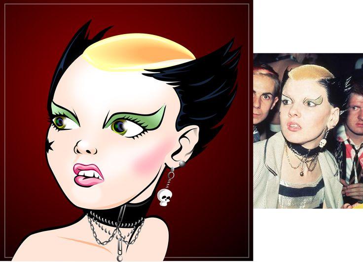 Soo Catwoman, Adobe Illustrator