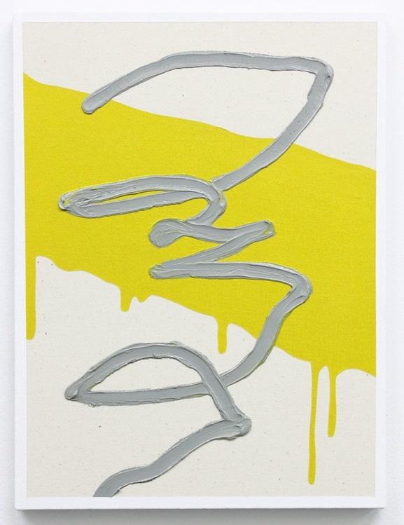 "Josh Reames ""amalgam no. 08""     12""x16""     oil on canvas      2011"