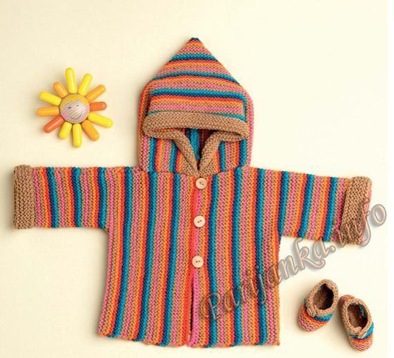 Пальто (д) 29*130 Phildar №5012
