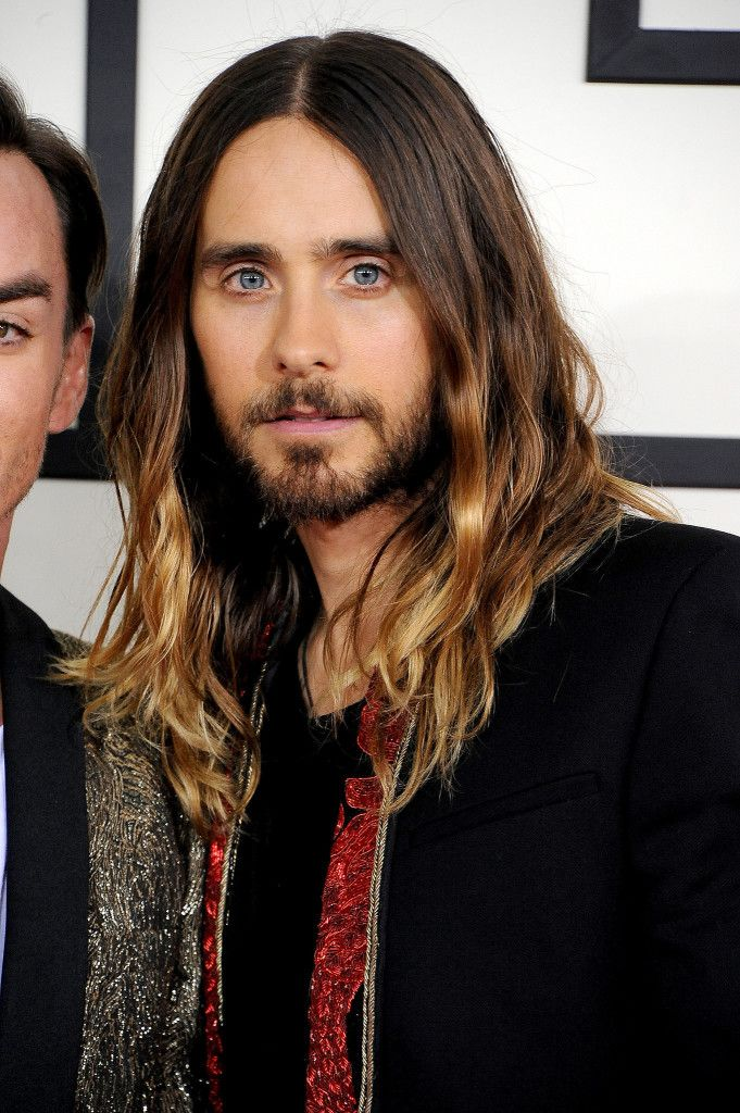 Jared Leto and his beautiful ombre hair