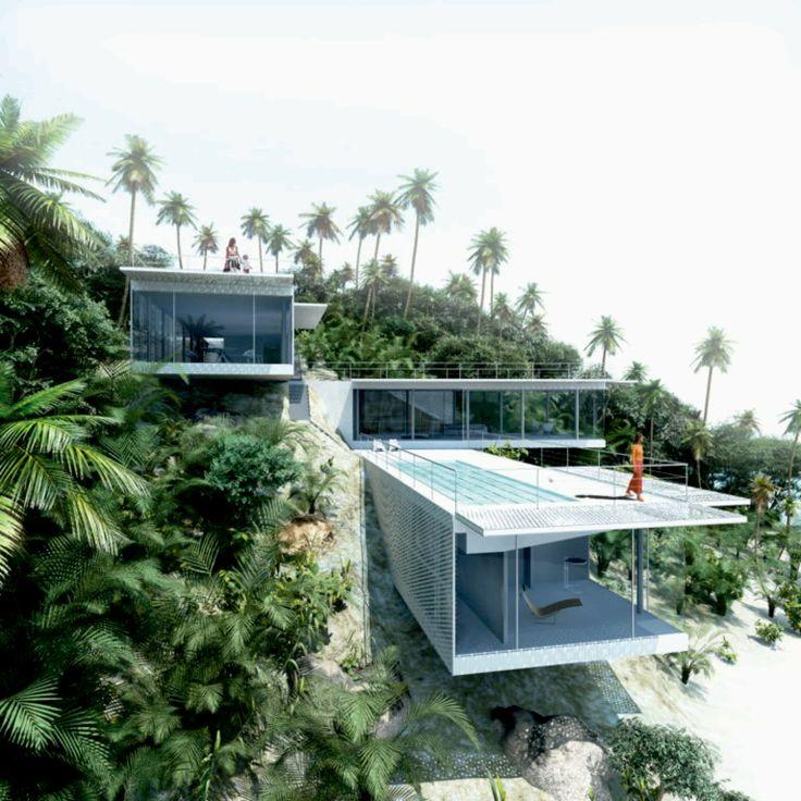 Galeria De Casas Exteriores: Galería De Villa TT / WE Architecture - 7