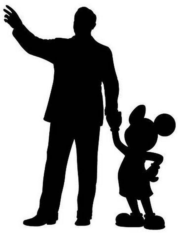 Best 25 Mickey Silhouette Ideas On Pinterest