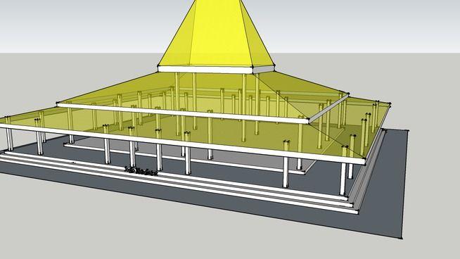 Rumah Jawa - Joglo Mangkurat - 3D Warehouse