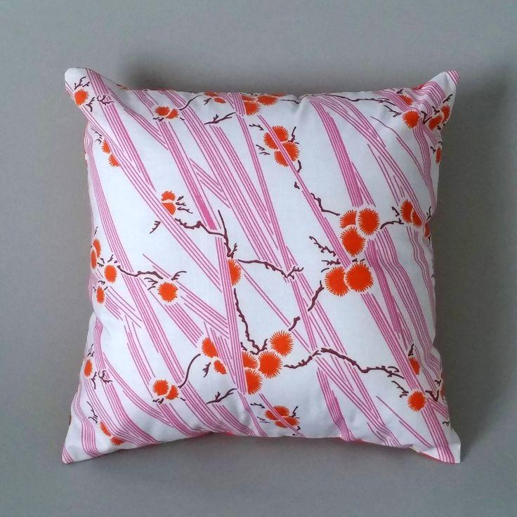 Scatter Cushion – Orange Blossom Cowboys 2