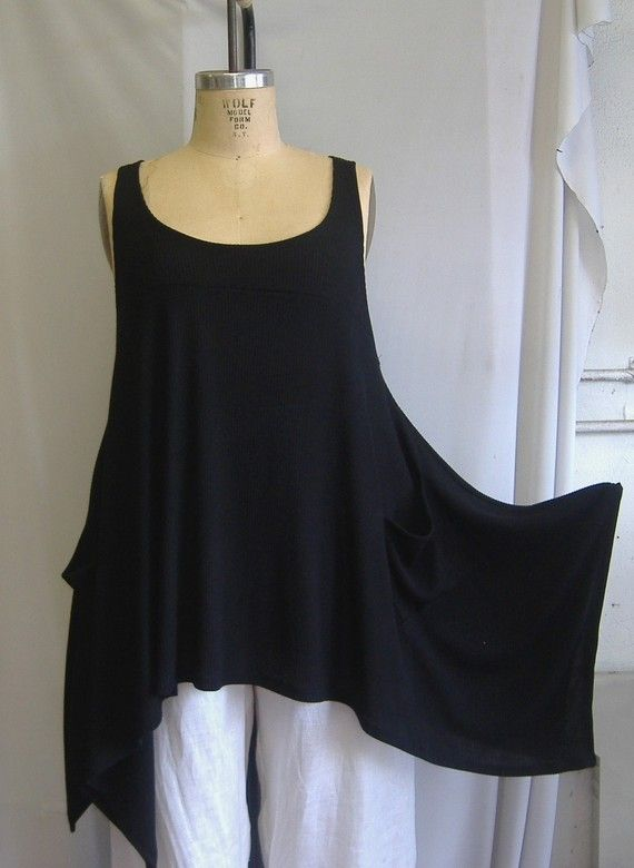 Coco & Juan Plus Size Tunic - I own 3 of these in different colours. Great for layering...