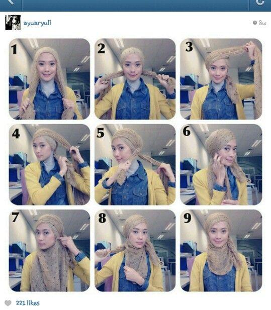 #tutorial - daily hijab style