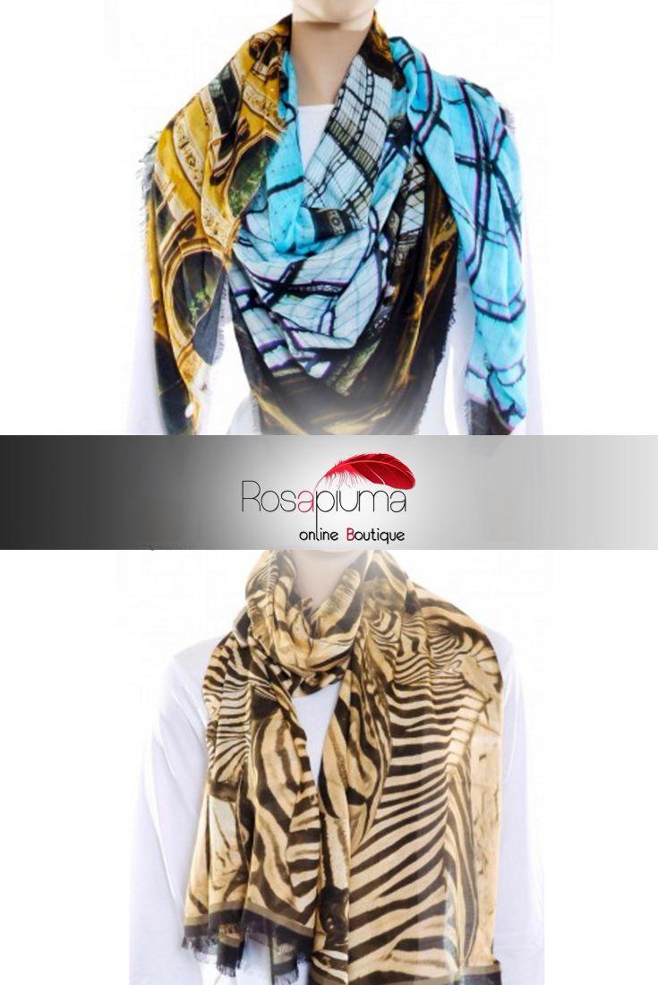 La morbidezza del #cashmere e l' eleganza della #seta si fondono nei #foulard #Guarisco, resi esclusivi dall' innovativa tecnica di stampa fotografica-digitale.  Dalle grandi opere architettoniche alle fantasie #animalier: visita il nostro #eshop e scegli quella che fa per te! In saldo, da #rosapiumaboutique >> http://bit.ly/1QOyZXg  #rosapiuma #saldi