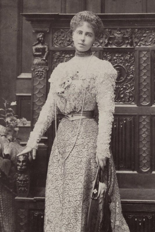 Queen Marie of Romania when Crownprincess. 1898.