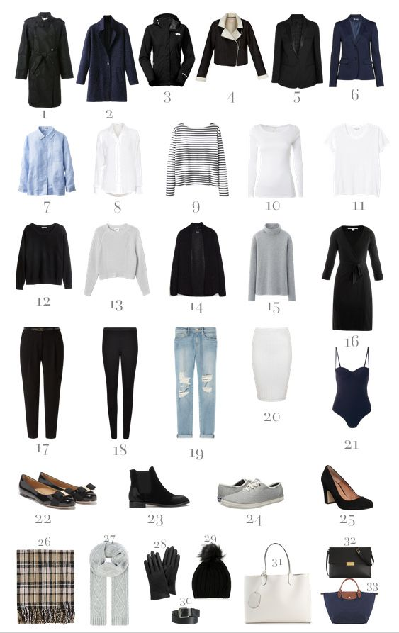 packing list for europe in autumn