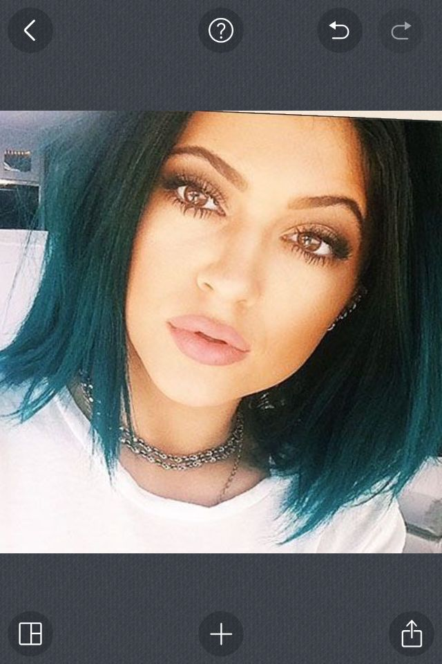 Kylie Jenner without her lip surgery