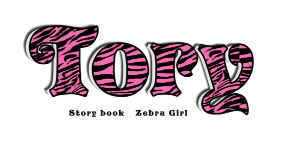 """8"""" or 10"""" wall letters Personalize your kids room! Our Zebra letters are hot! Any color or theme! Ships same week! www.3dphotodisplays.com."""