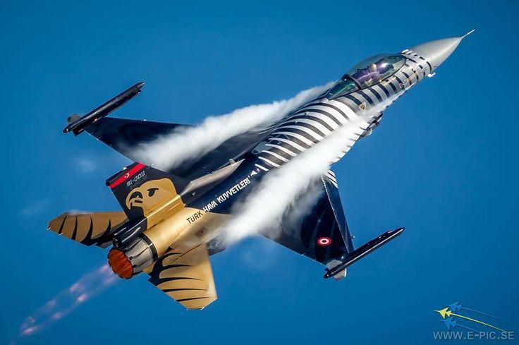 General Dynamics F-16 Fighting Falcon of Türk Hava Kuvvetleri