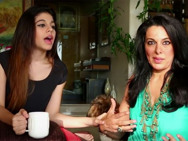 Pooja Bedi and her daughter Aalia Furniturewalla's 'Eff N Bedi' videos are super funny. Check it out here...