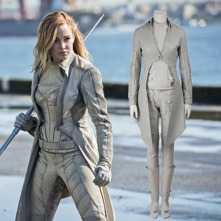 DC's Legends of Tomorrow White Canary Costume Cosplay Sara Lance Cosplay Costume Adult Women Halloween Costume Exotic Apparel