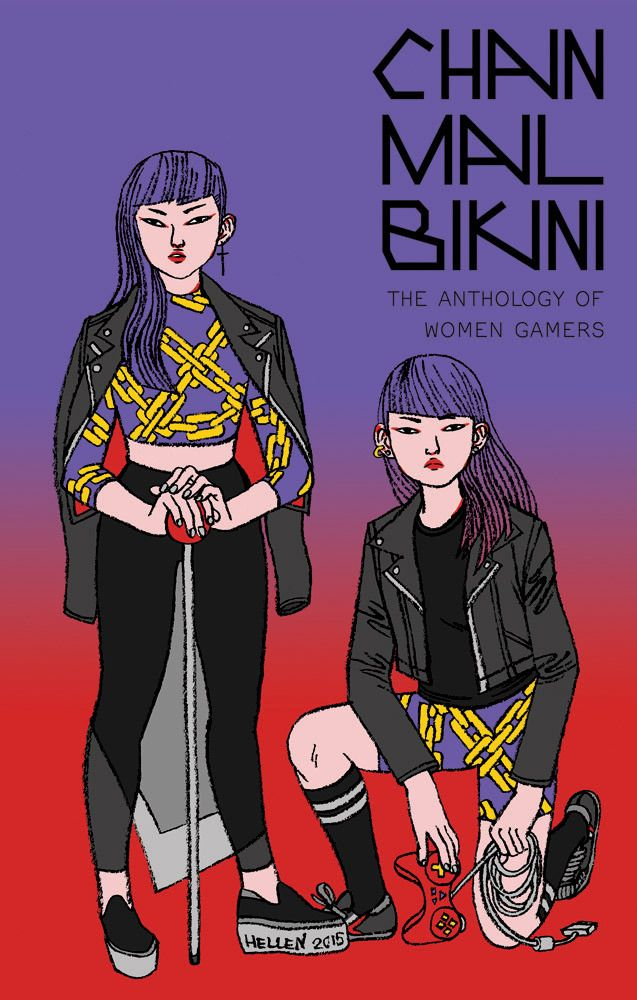 Chainmail Bikini is an anthology of comics by and about female gamers! 40 cartoonists have contributed 200+ pages of all new stories about the games they're passionate about—from video games to table-top role-playing to collectible card games. Help us pay for the printing costs and reward the artists by pre-ordering the book!