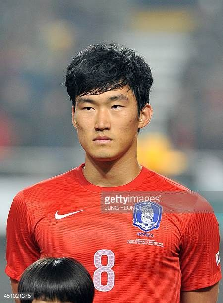 This picture taken on November 15 2013 shows South Korean defender Jang HyunSoo ahead of a friendly football match against Switzerland in Seoul AFP...