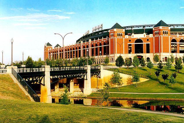 "Ballpark in Arlington  Home of the classiest ""Texas Ranger"" baseball team!"