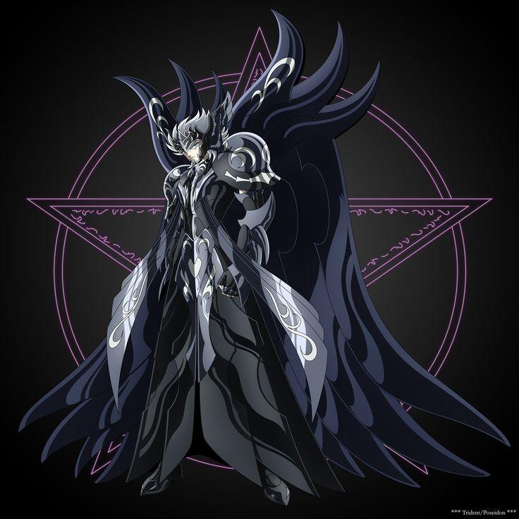 Caballeros del Zodiaco (Armadura que usa Thanatos)