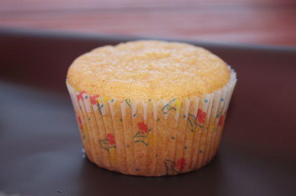 Muffin con farina integrale di farro e kefir