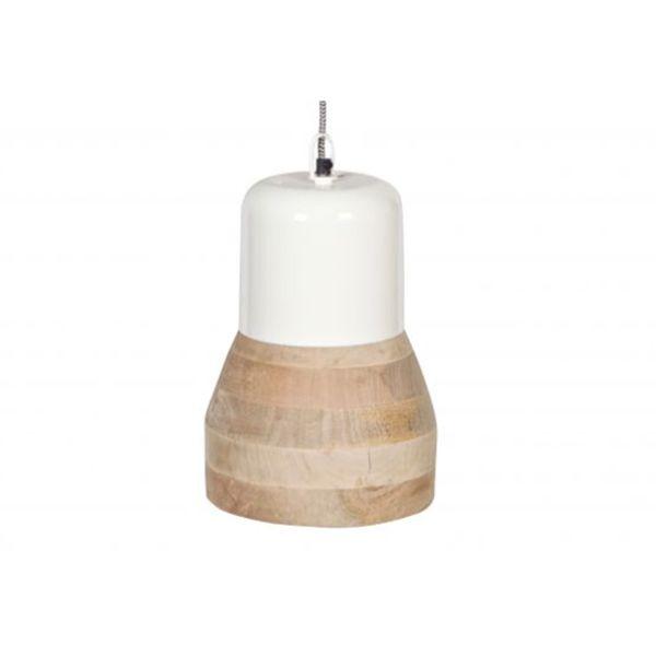 Hängelampen Deckenlampe Esszimmerlampe Leuchte Lampe Holz Shabby weiss schwarz