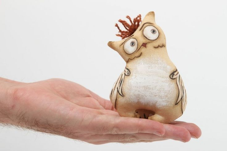 handmade, креативный совёнок