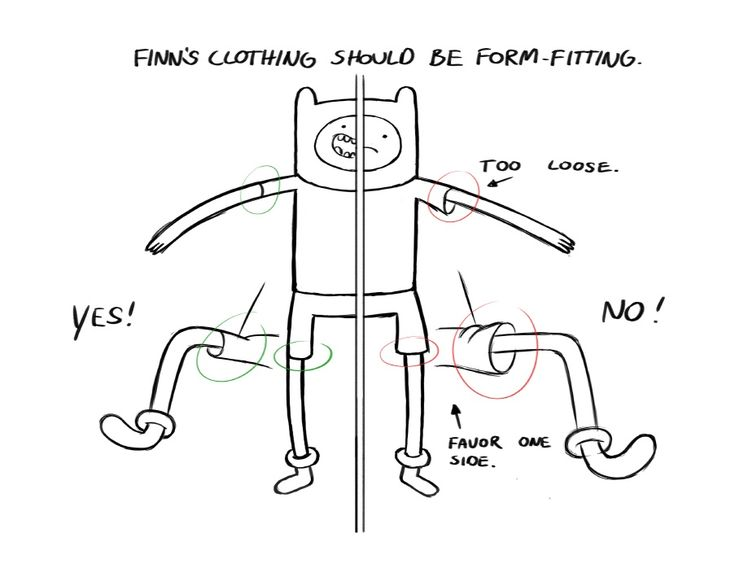 """A sixteen-page manual detailing the intricacies of drawing Finn & Jake from Pendleton Ward's """"Adventure Time"""" series."""