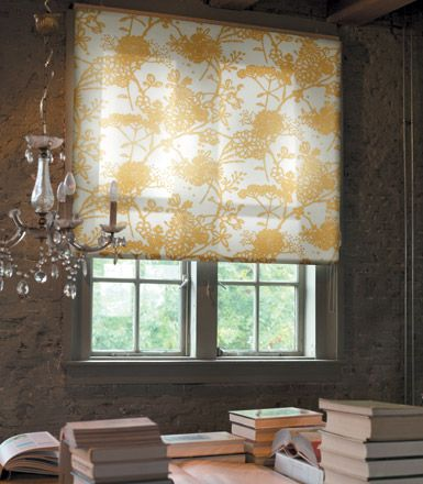 30 best images about roller shades on pinterest fabric for Fabric window blinds designs
