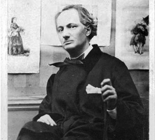 Baudelaire: Artists, Books, Charles Baudelaire, Cat, Writers, 1863, Black