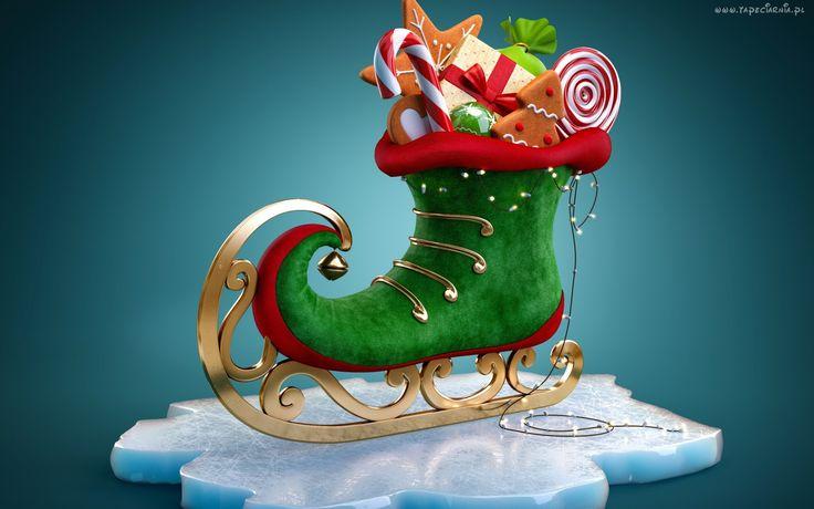 Bożonarodzeniowy, But, Słodycze